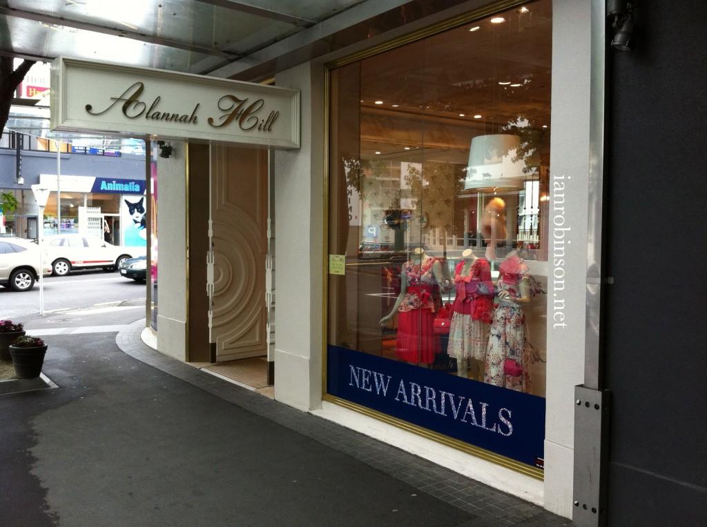 Alannah Hill Auckland