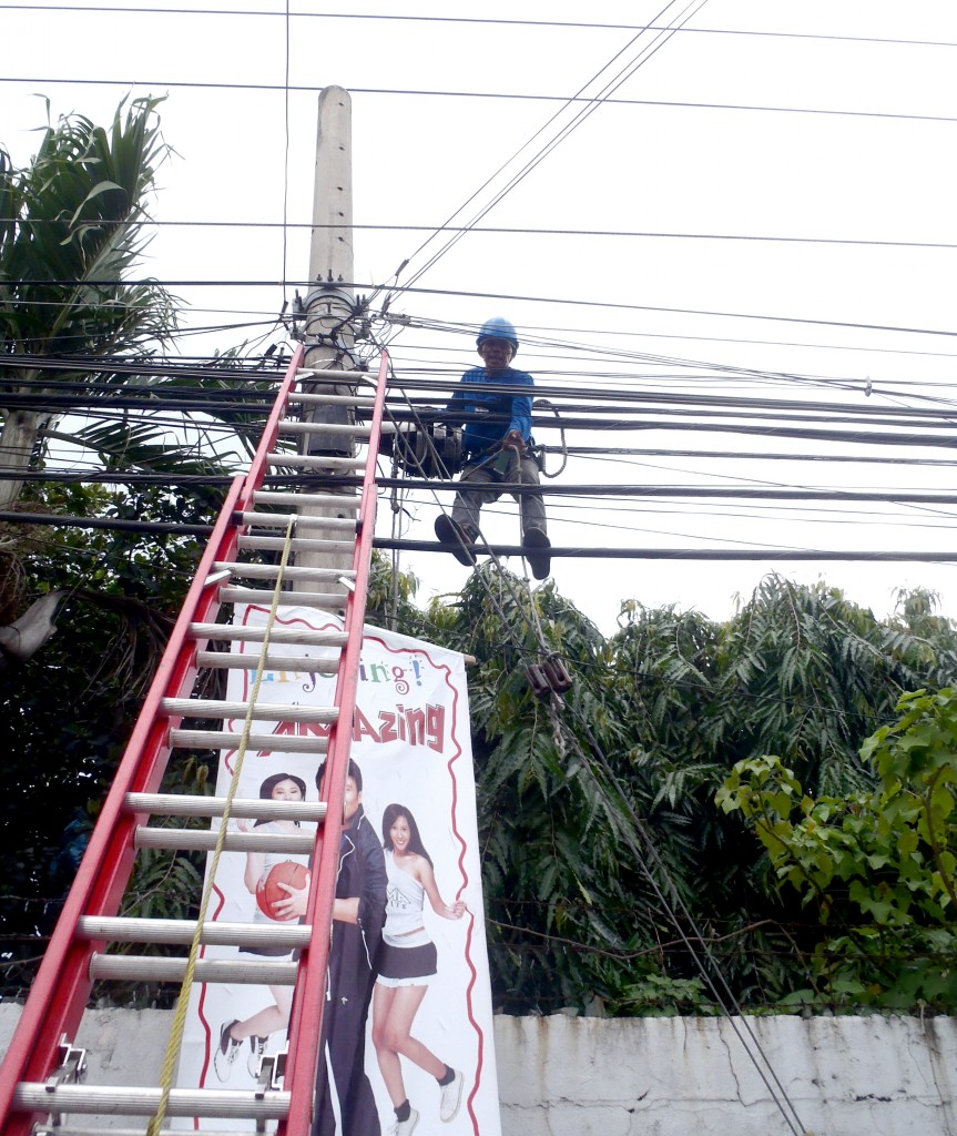 Power Lines in the Philippines
