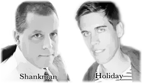 peter shankman vs ryan holiday