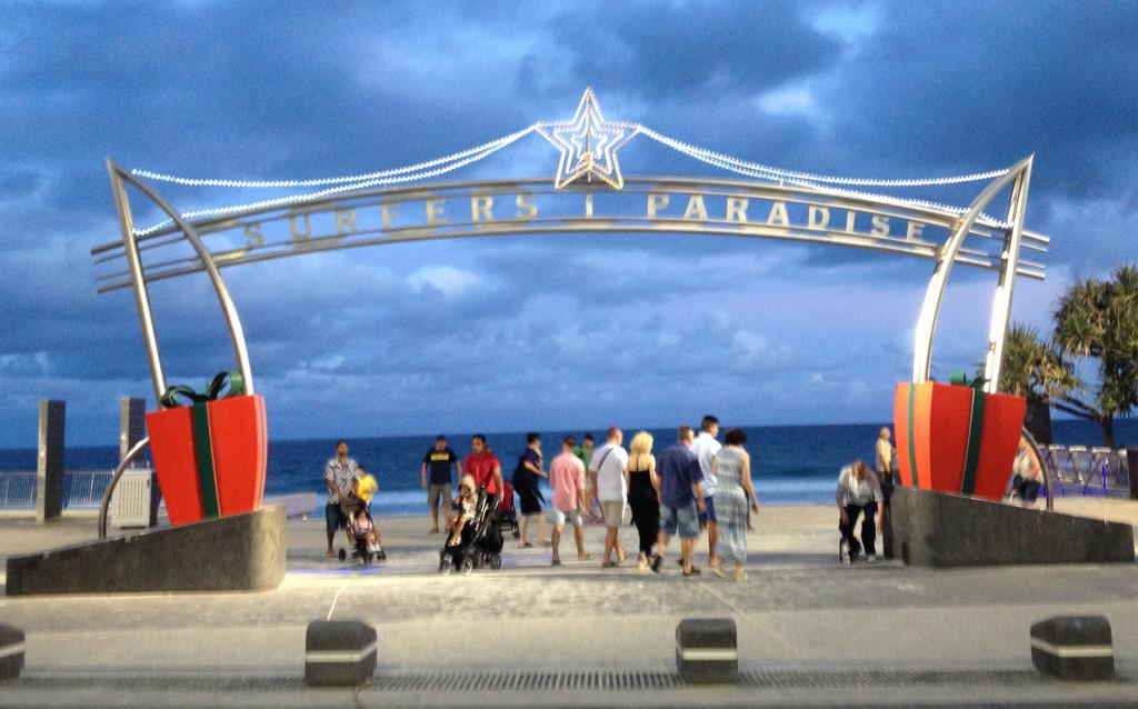 Surfers Paradise Arch