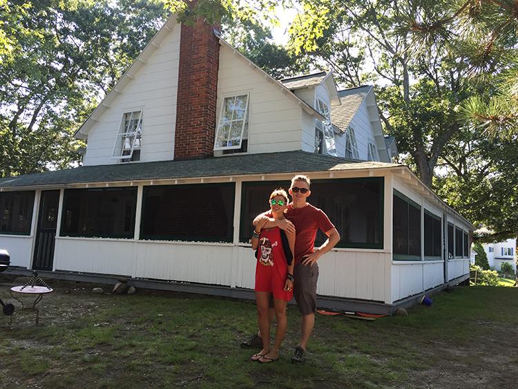 Visiting Hoskins Cottage