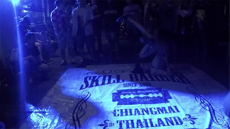 Chiang Mai Songkran 2016 - Skill Barber
