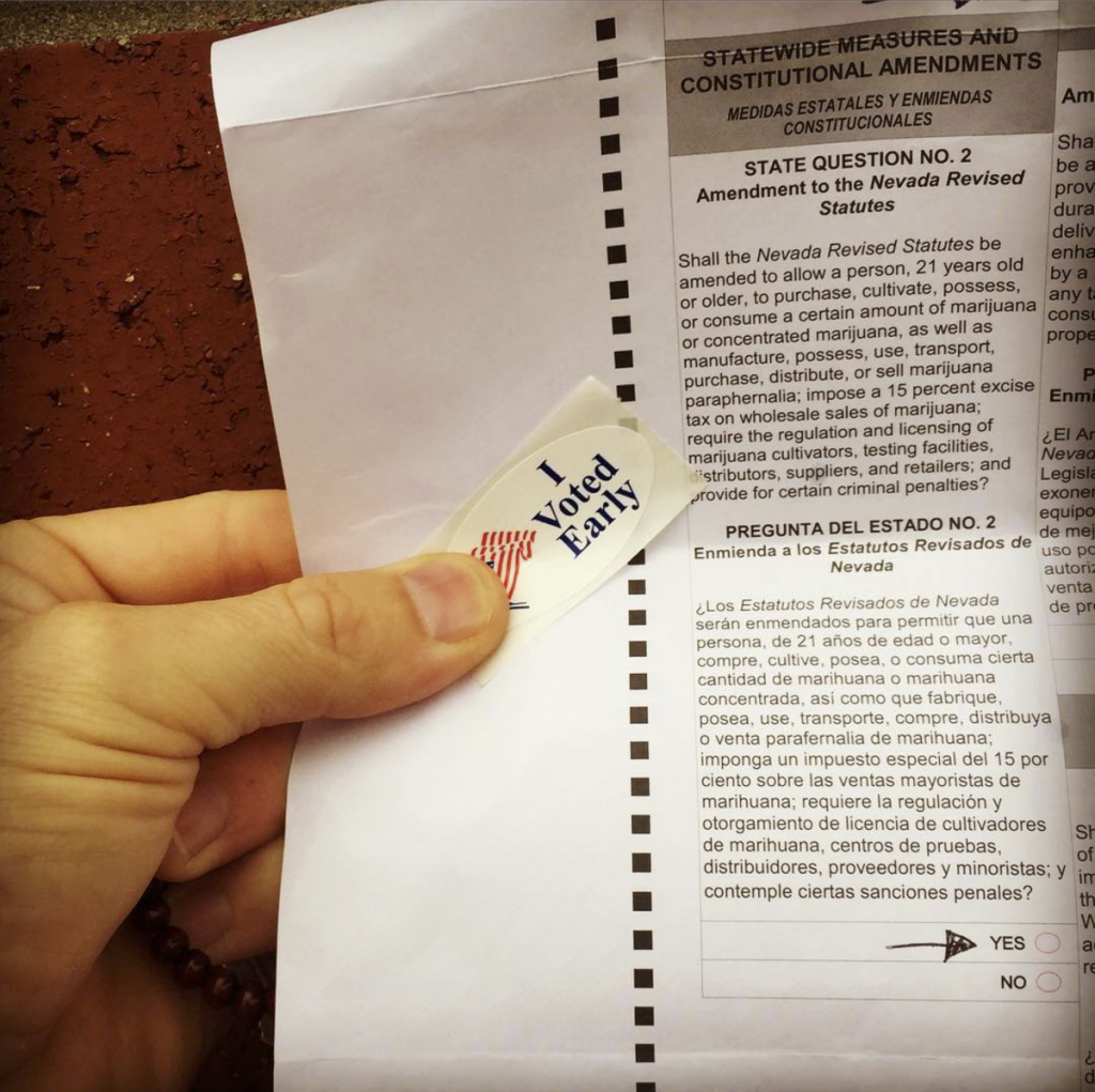 nevada voter experience