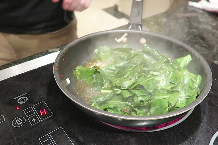 How to Chop Collard Greens - Blue Apron Reviews