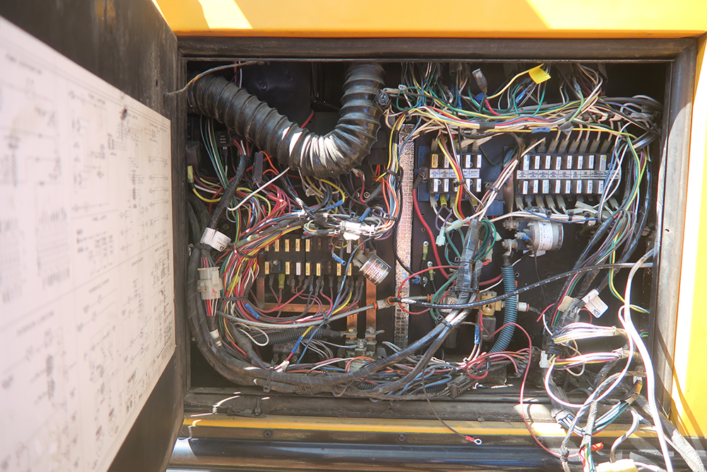 School Bus Electrical Disassembly