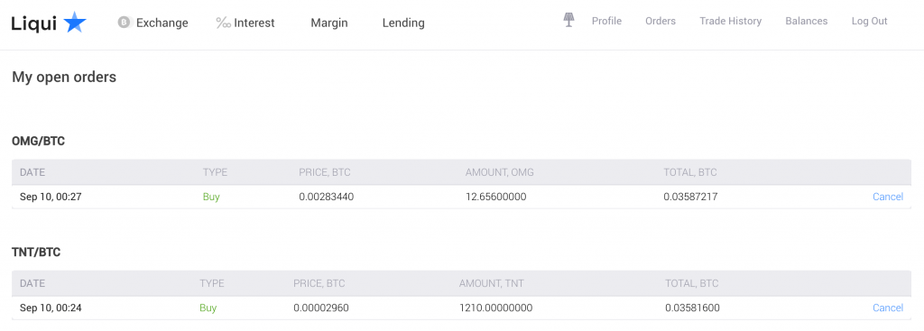 open buy orders on liqui - cryptocurrency hedge fund