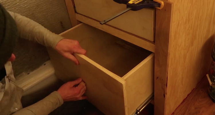 Installing Soft-Close Ball Bearing Drawer