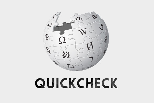 A tool to quickly check many wikipedia entries related to a term