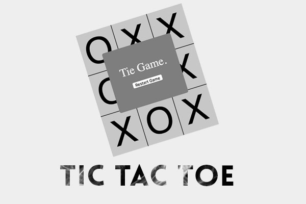 A simple Tic Tac Toe Game